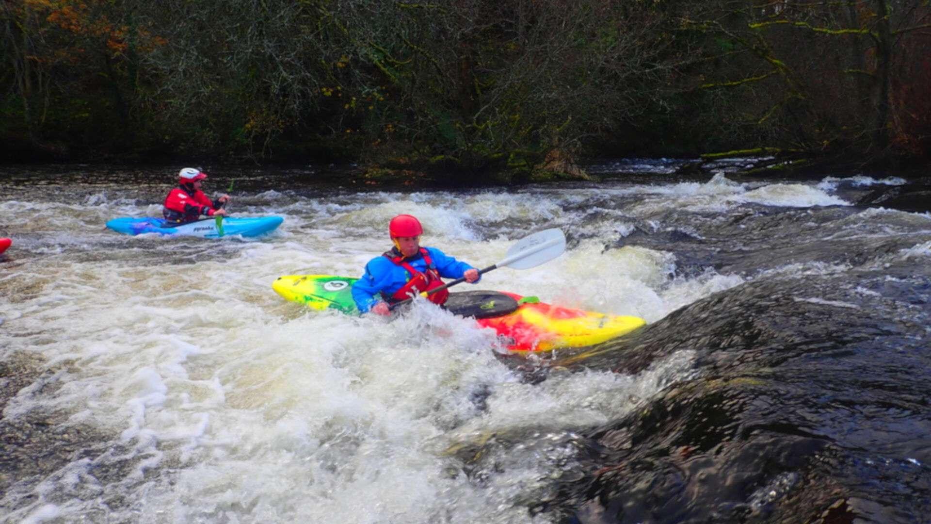 British Canoeing Coaching Course - Kayak