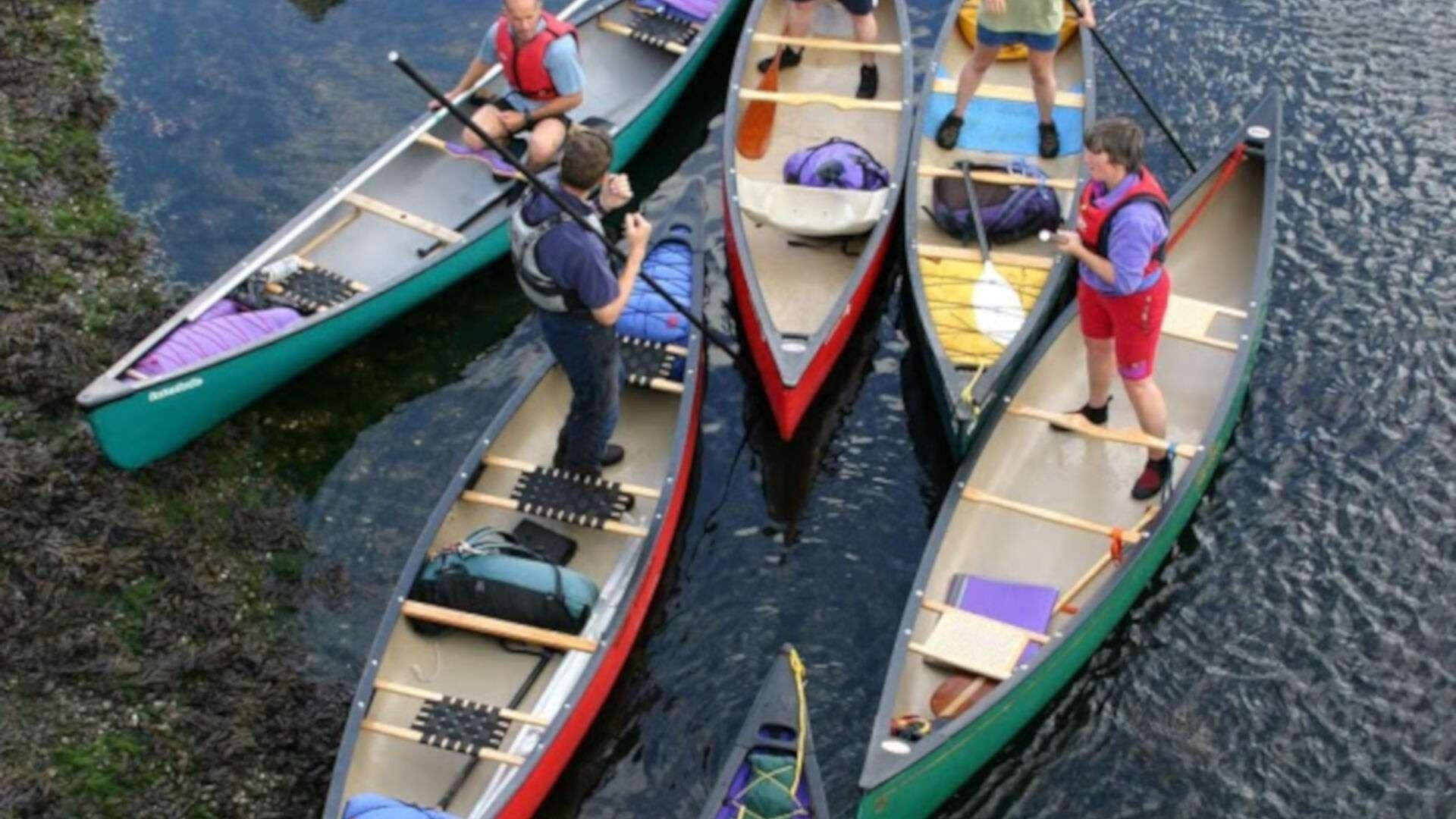 British Canoeing Leadership Course - Canoe