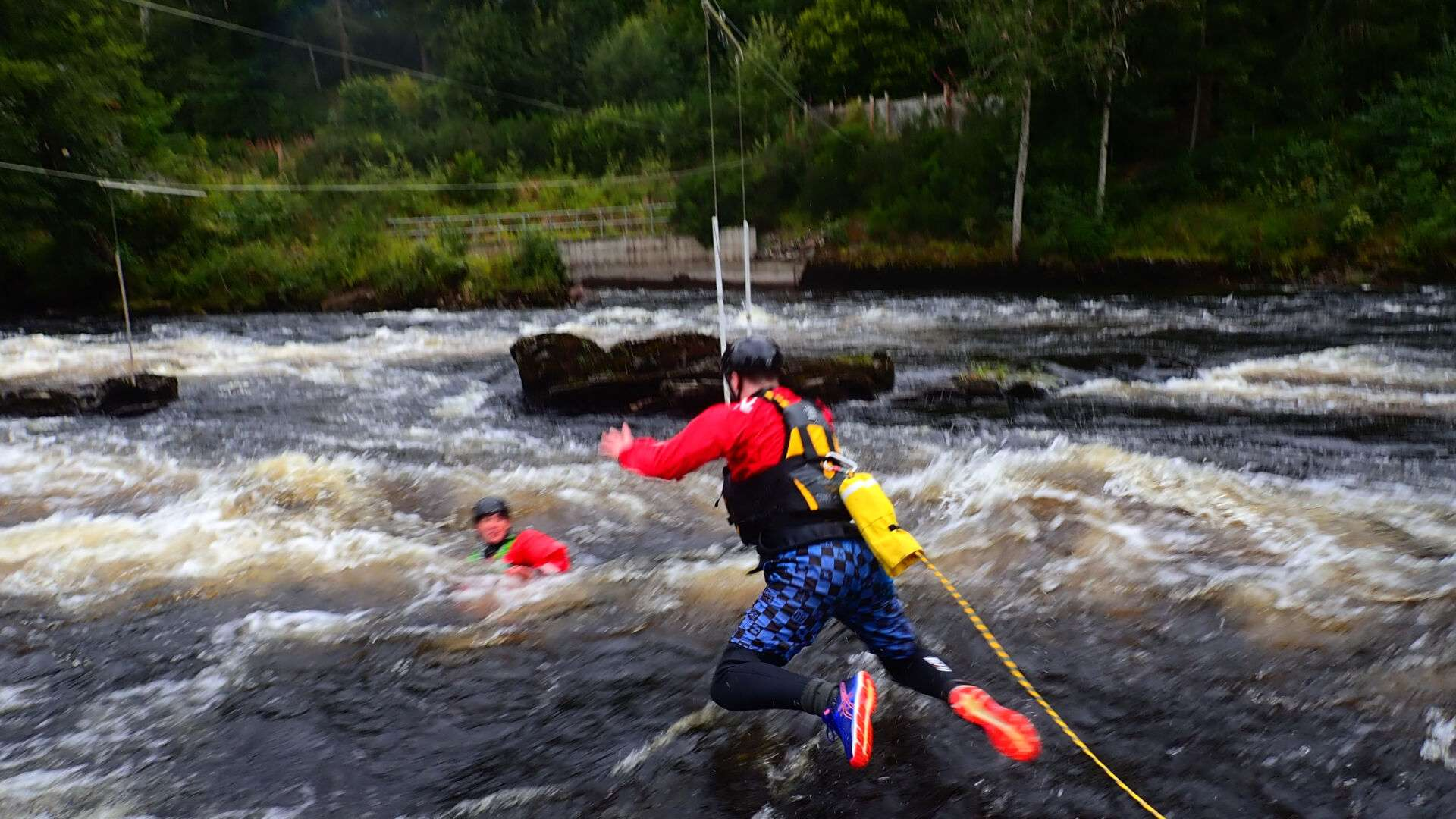 British Canoeing White Water Safety and Rescue Course