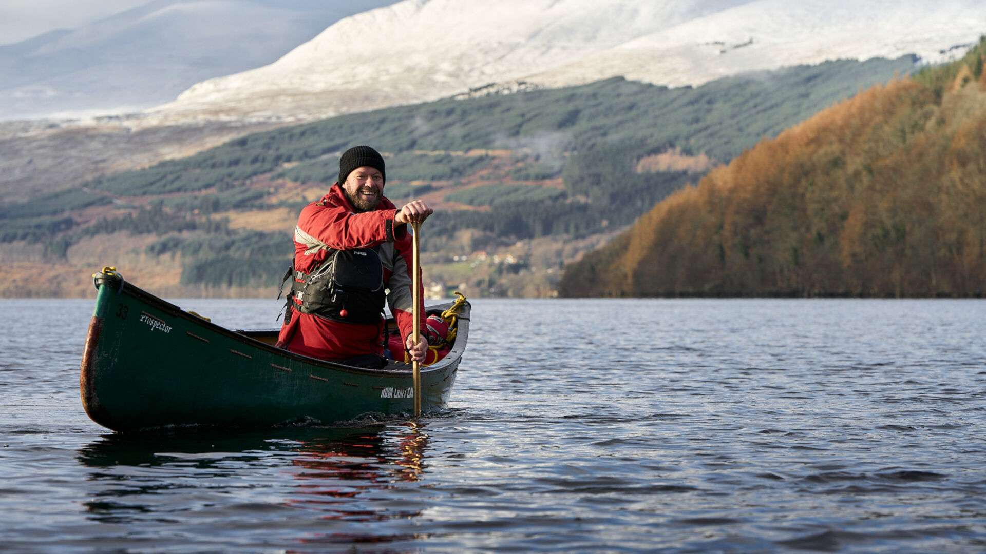 Canoeing at Beyond Adventure in Perthshire